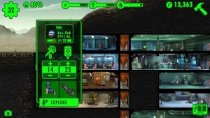 fallout shelter issledovanie pustoshi