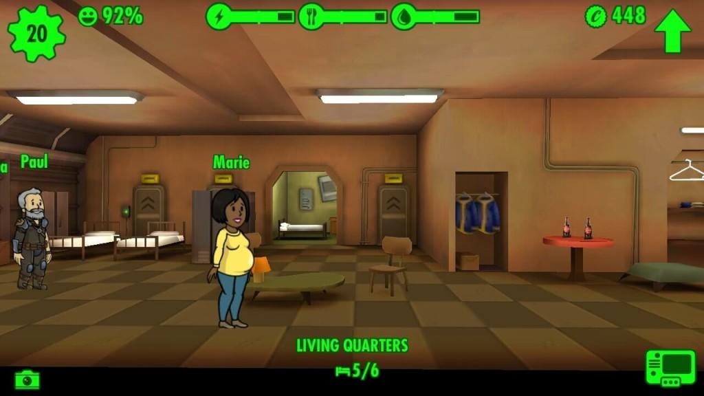 fallout shelter как привлечь жителей