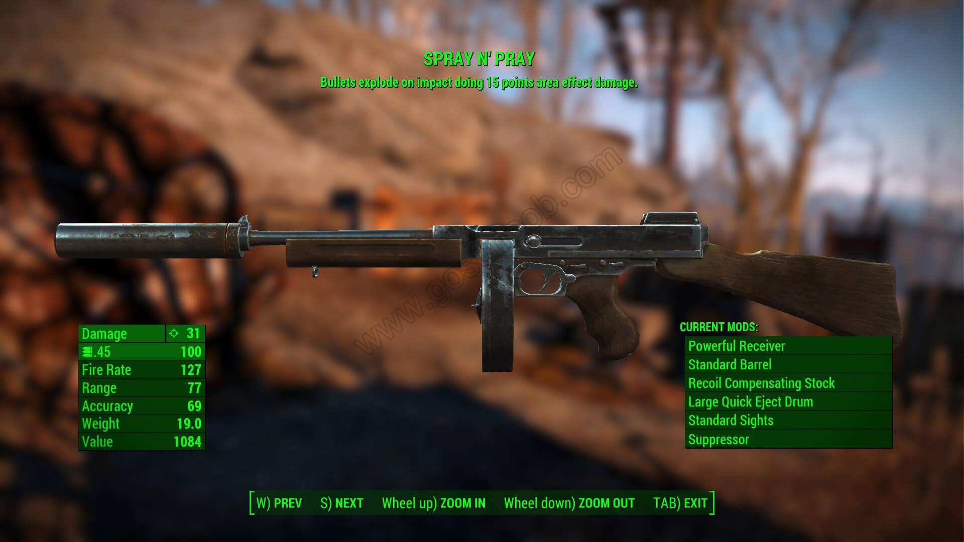 Dart gun - the fallout wiki - fallout: new vegas and more