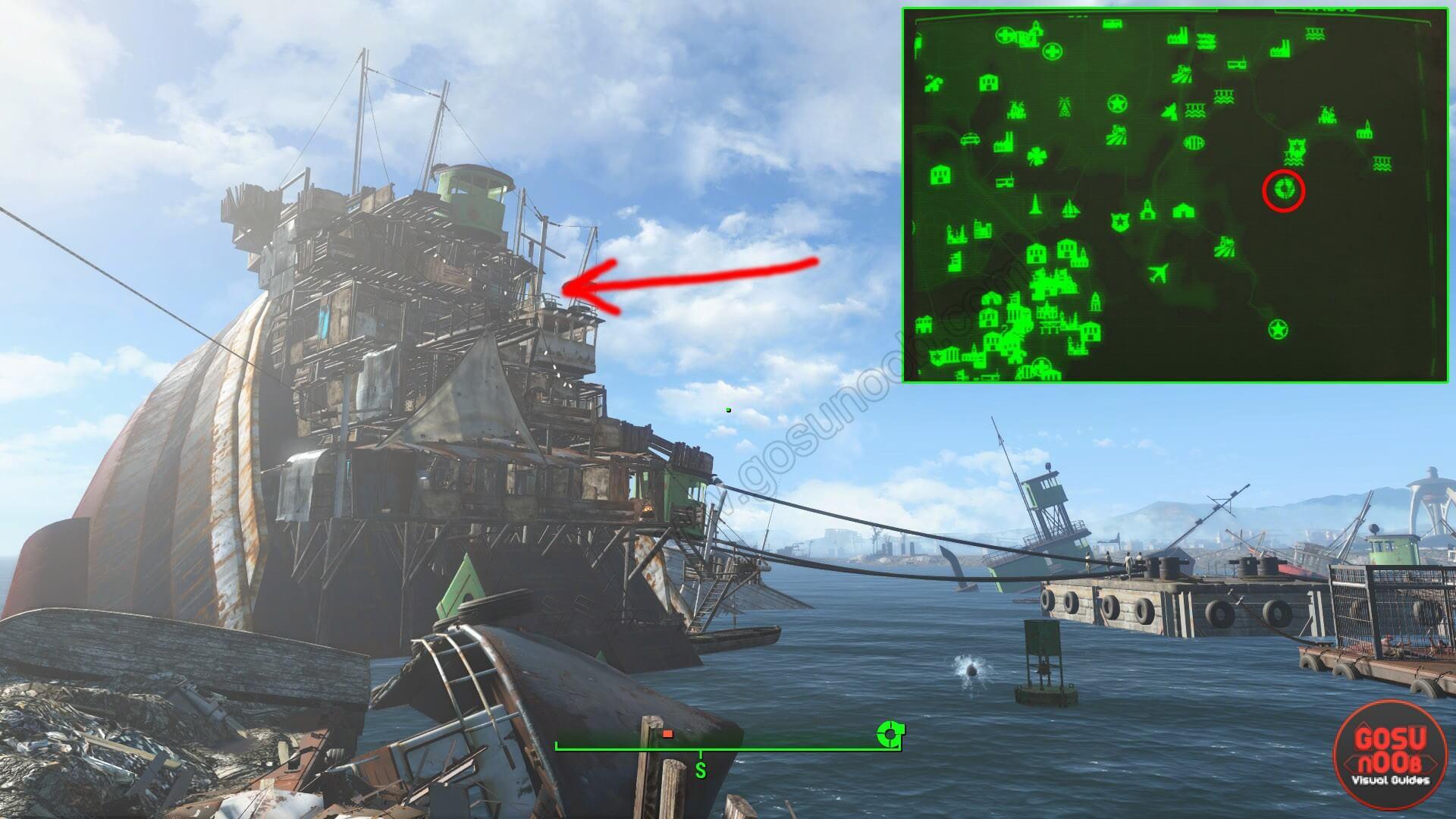 Fallout 4 руины бостонского аэропорта