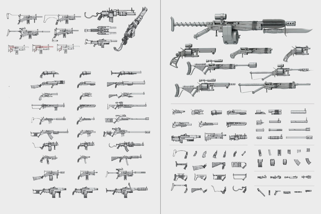 fallout 4 список оружия