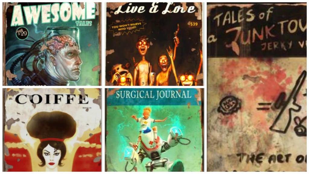 fallout 4 журналы заборы