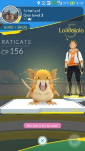 pokemon go gym правила