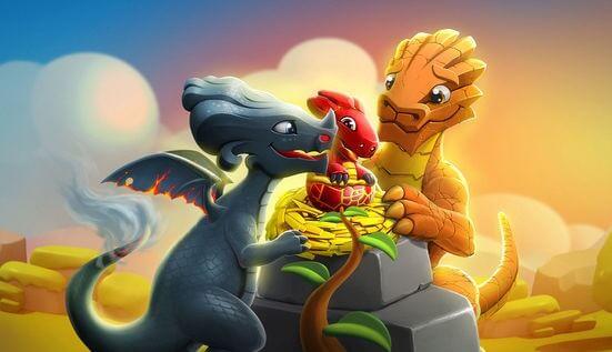 легенды дракономании скрещивание драконов таблица