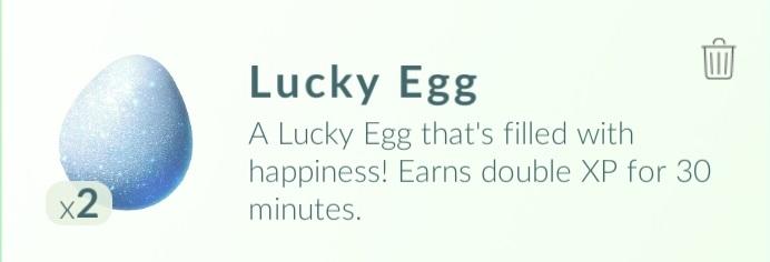 pokemon go счастливое яйцо