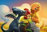Как выводить драконов в игре легенды дракономания