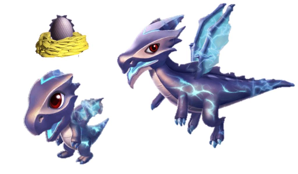дракон бури легенды дракономании