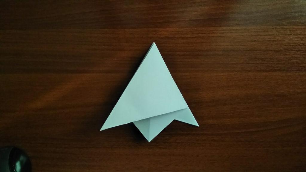 как сделать снежинку из бумаги а4