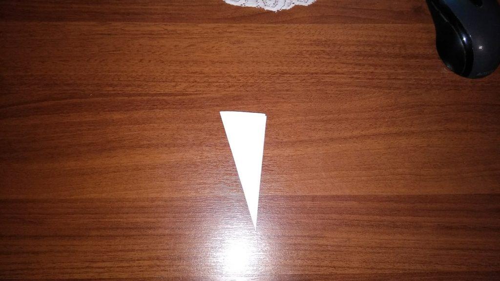 как сделать снежинку из бумаги пошагово
