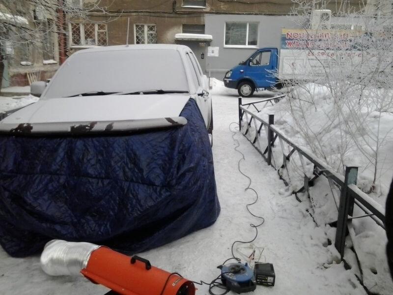 как согреть аккумулятор зимой в машине