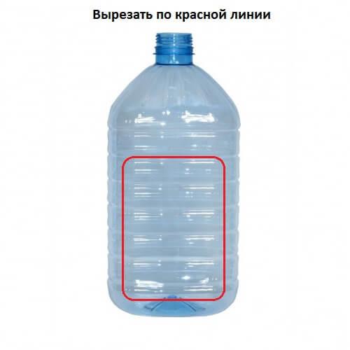 кормушка из пластиковой бутылки 5 литров