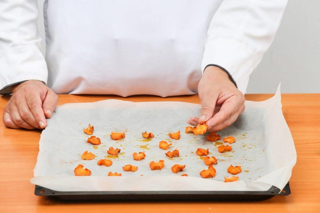 морковные чипсы рецепт