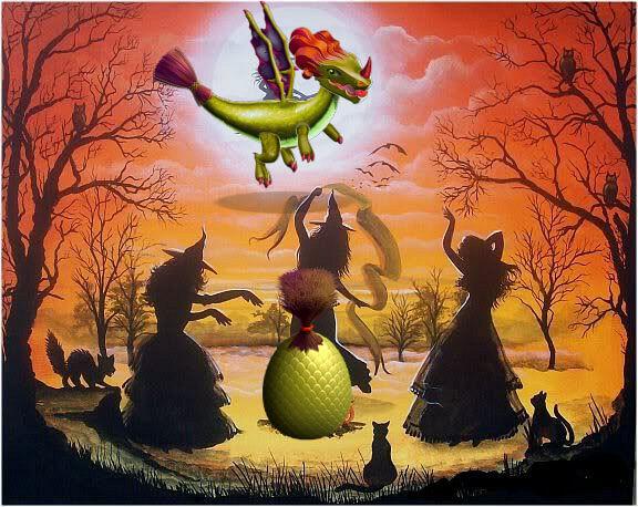 как вывести ведьму в легенды дракономании