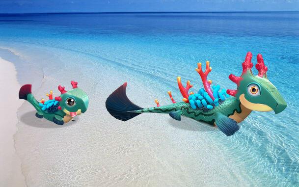 легенды дракономании как вывести дракона коралл