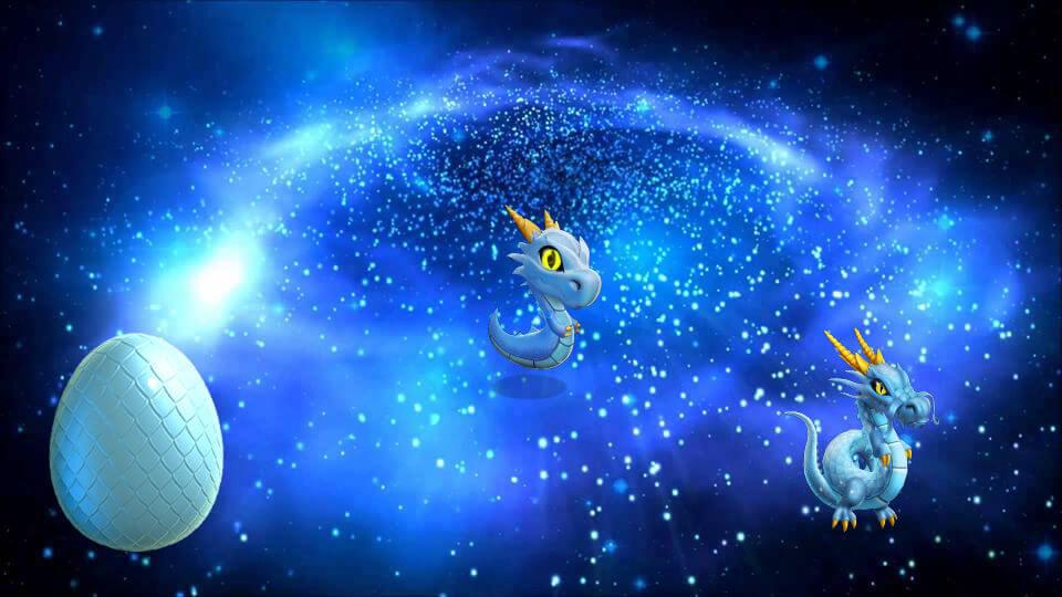 как вывести космос в легенды дракономании