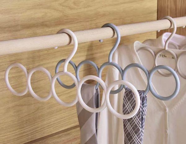 Вешалки для шарфов, галстуков