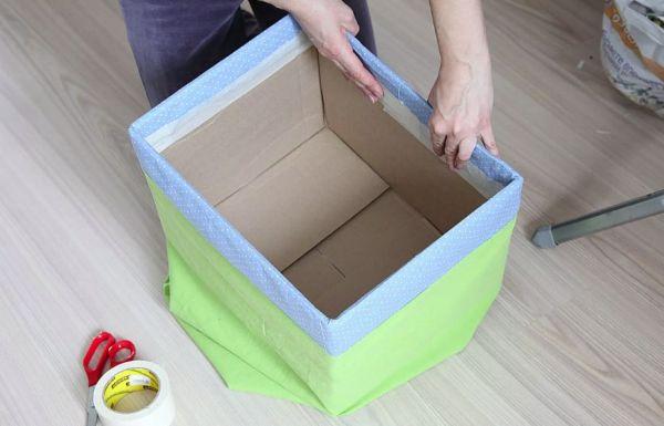 Полка из коробки