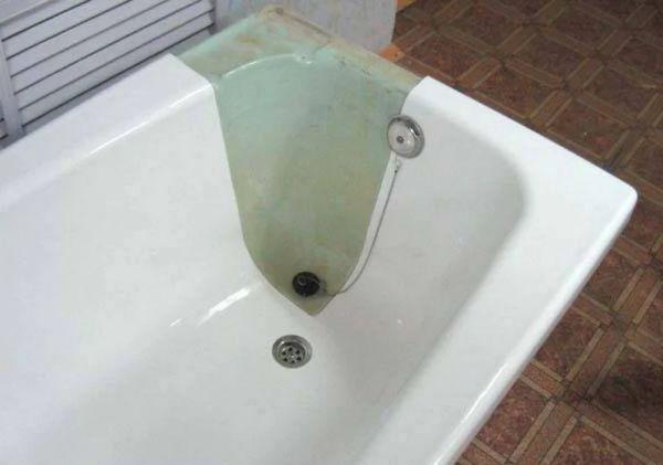 Эмаль для чугунной ванны