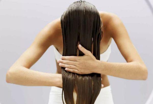 Мытье длинных волос