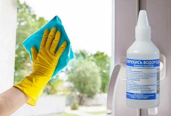 Раствор для мытья окон