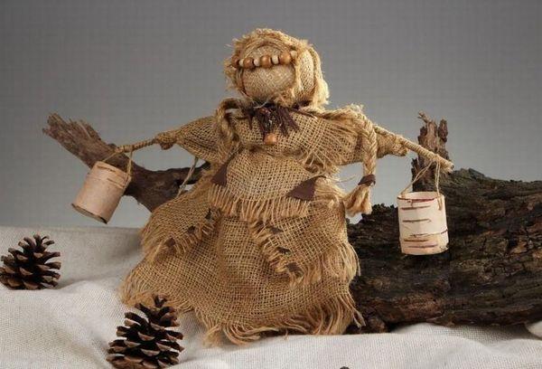 Кукола из Мешковины