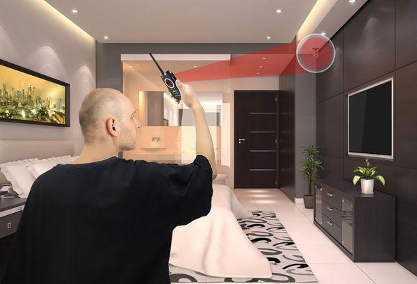 Обнаружение камеры в домы