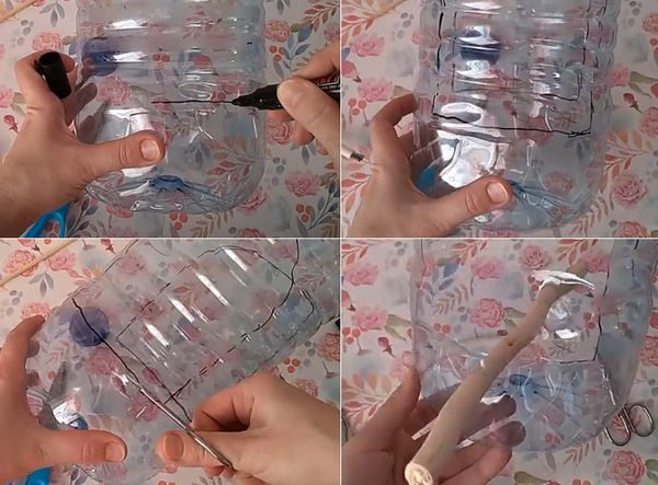 Кормушка из бутылки самодельная