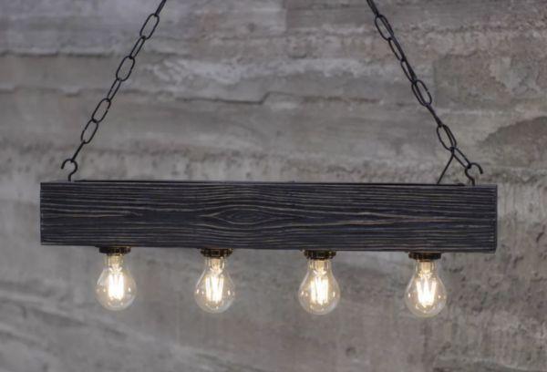 Светильник Wood Chandelier