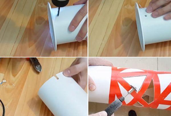 Самодельный светильник изготовление 2