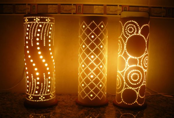 Светильники из полипропиленовых труб