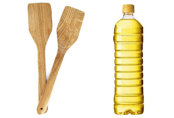 Лопатки и масло