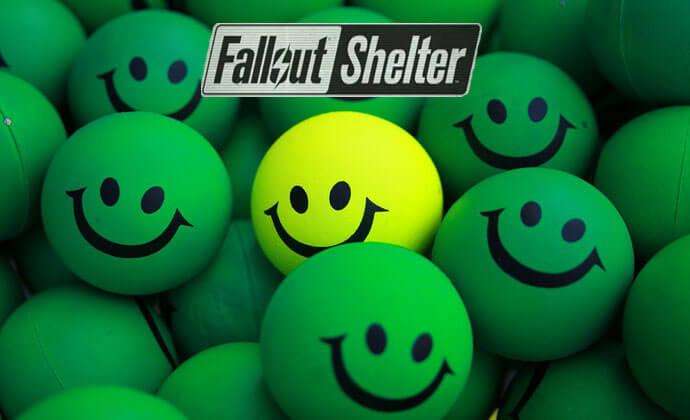 fallout shelter как поднять настроение