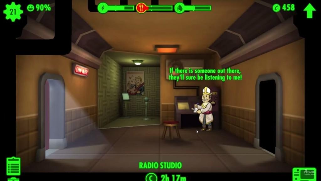 fallout shelter как привлечь людей