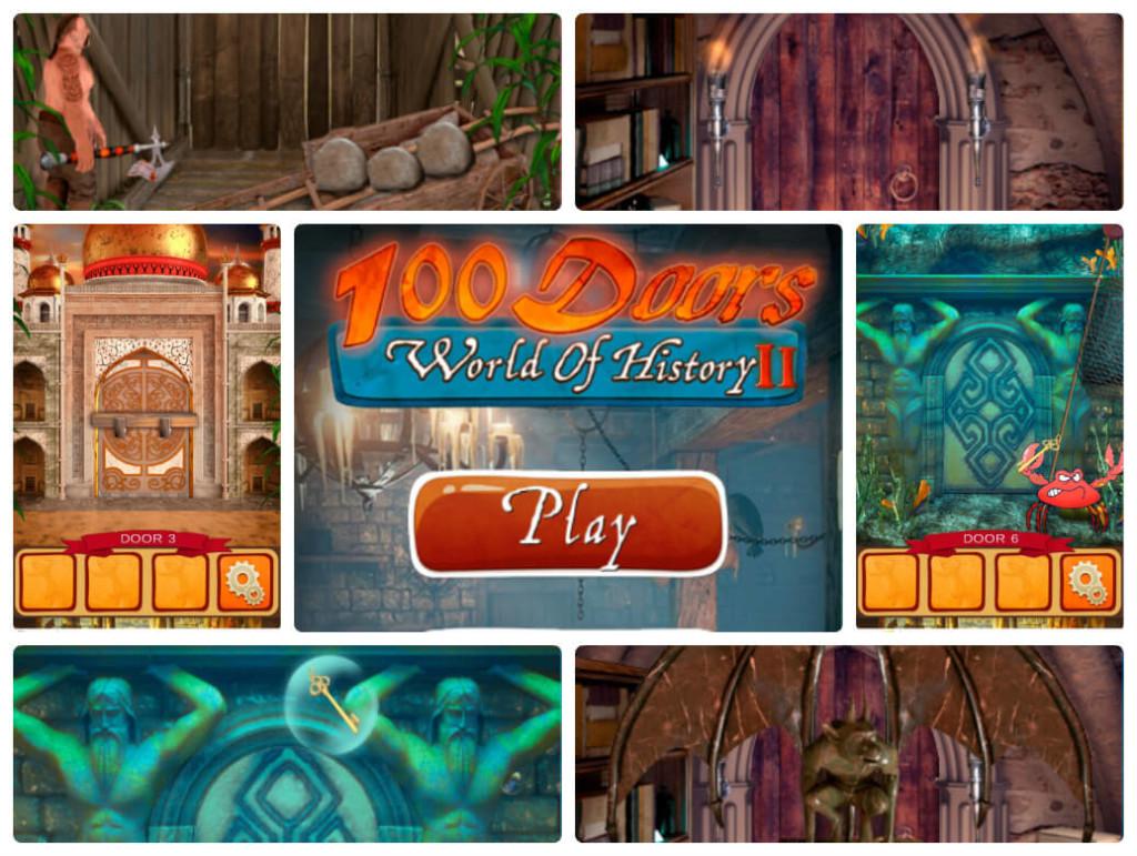 100 Дверей Мир Истории 2 прохождение