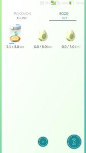 pokemon go как выращивать яйца
