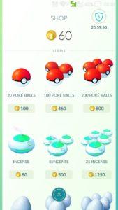 pokemon go покеболы