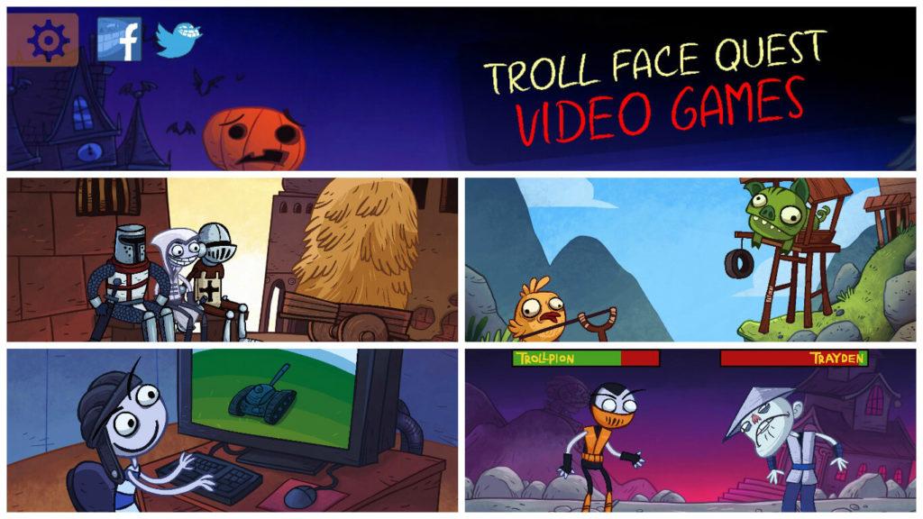 прохождение игры троллфейс квест видео игры