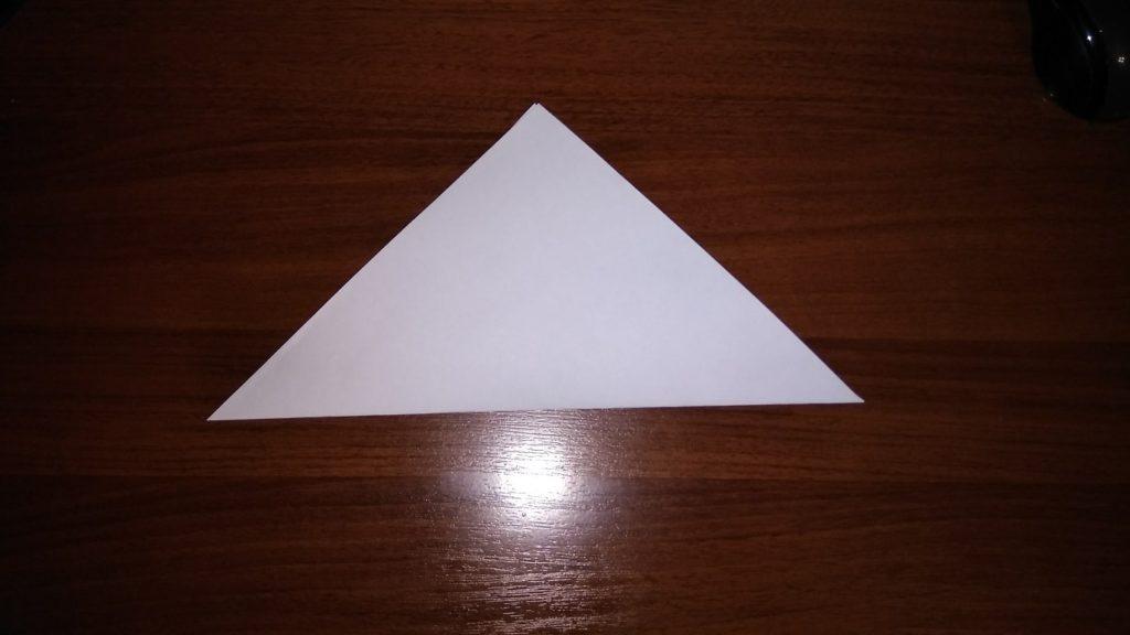 как сделать из цветной бумаги снежинку