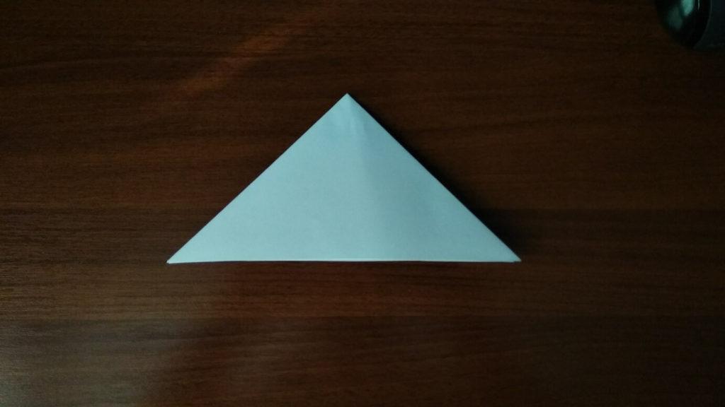 как сделать маленькую снежинку из бумаги