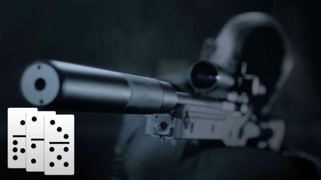 убить эффектом домино hitman sniper
