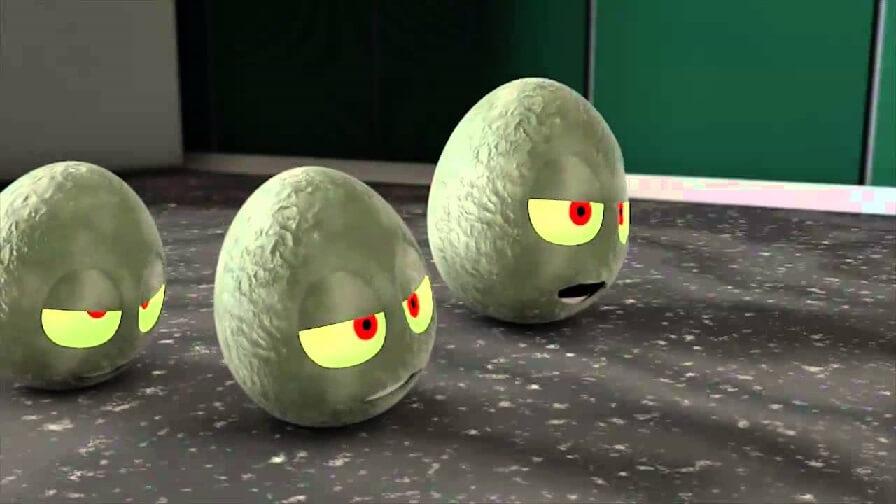 как определить свежесть яиц в воде