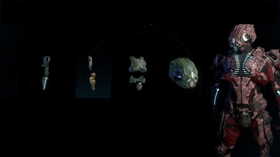 Mass Effect Andromeda броня