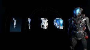 mass effect andromeda броня глубокий космос