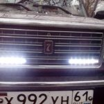 Установка дневных ходовых огней на ВАЗ 2107