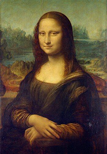 Раскраска по номерам Мона Лиза — скачать, распечатать