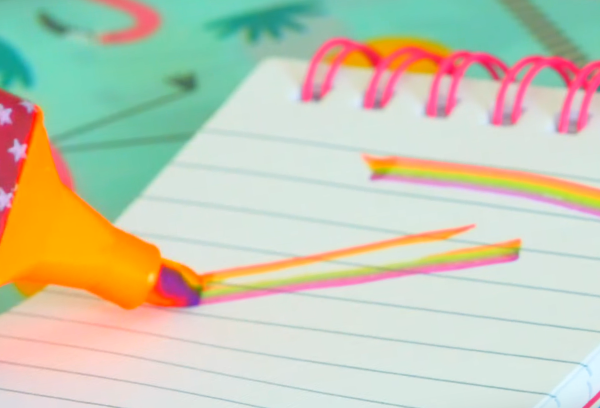 Радужный маркер