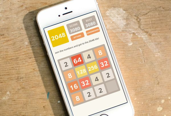 2048 на смартфоне