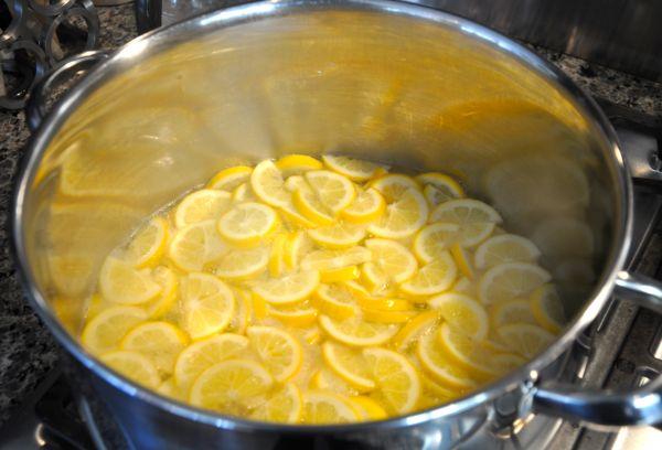 отваривание лимонов