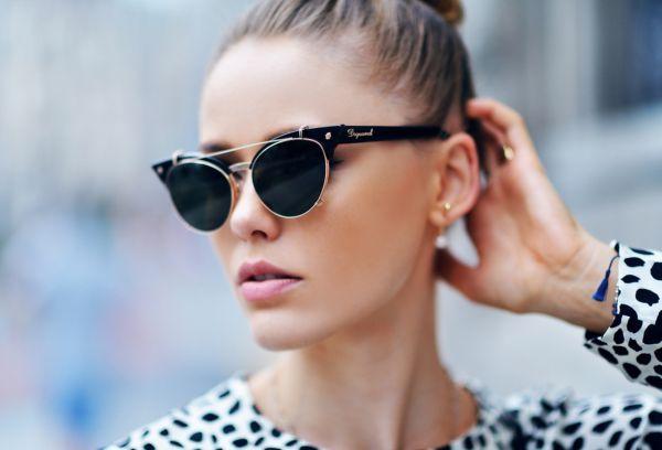 очки в стиле Матрицы