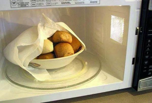 Реанимация чёрствого хлеба